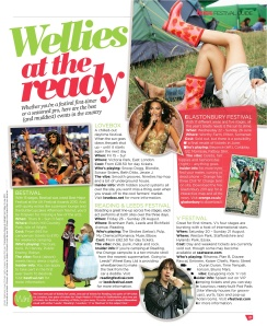 Buzz magazine, The Sun, 2011