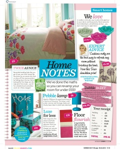 Woman's Own, Home Notes, 2013